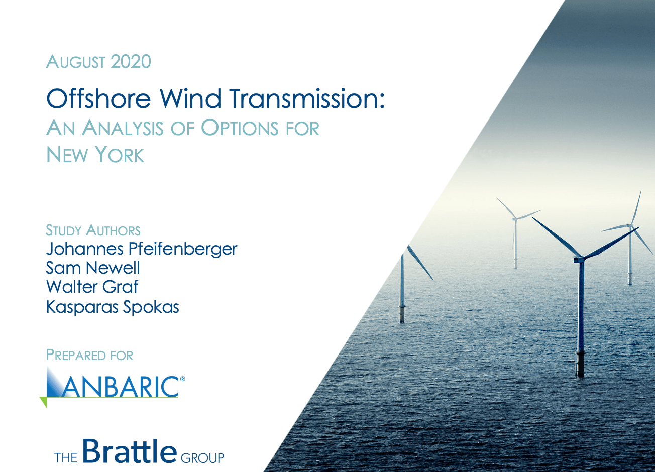 Report Finds $500M in Cost Savings and Reduced Environmental Impacts and Risk with Planned Offshore Wind Transmission for New York